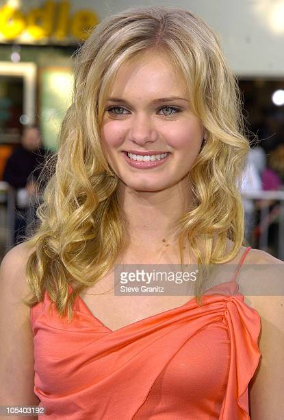 Sara Paxton during Soul Plane Los Angeles Premiere at Mann Village Theatre in Westwood California United States