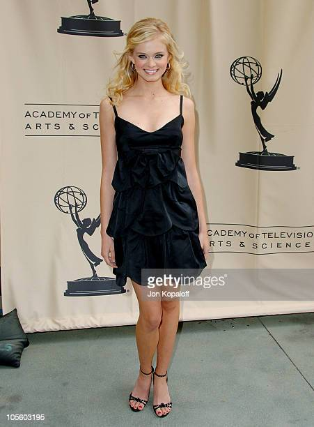 Sara Paxton during The 33rd Annual Daytime Creative Arts Emmy Awards in Los Angeles Arrivals at The Grand Ballroom at Hollywood and Highland in...