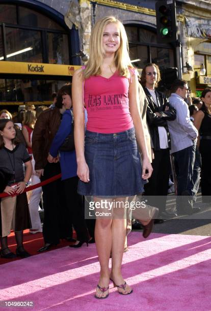 Sara Paxton during The Lizzie McGuire Movie Premiere at The El Capitan Theater in Hollywood California United States