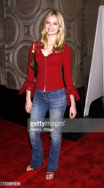 Sara Paxton during 'Tuck Everlasting' Premiere at El Capitan Theater in Hollywood California United States