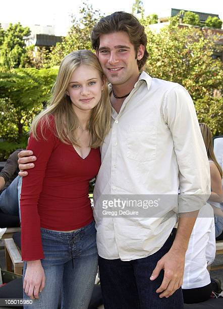 Sara Paxton Jason Guy during 2nd Annual Danny Seo's SuperNatural Super Suite at The W Hotel in Westwood California United States