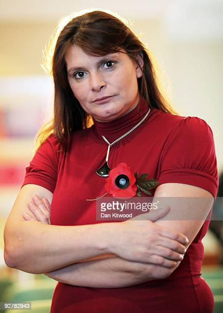 Sara Payne poses for a portrait at the Thistle Hotel on November 5 2009 in London England In a review of the criminal justice system Mrs Payne today...