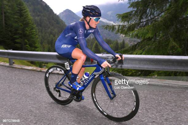 Sara Penton of Sweden and Team Virtu Cycling / during the 29th Tour of Italy 2018 Women Stage 7 a 15km Individual time trial stage from Lanzada to...