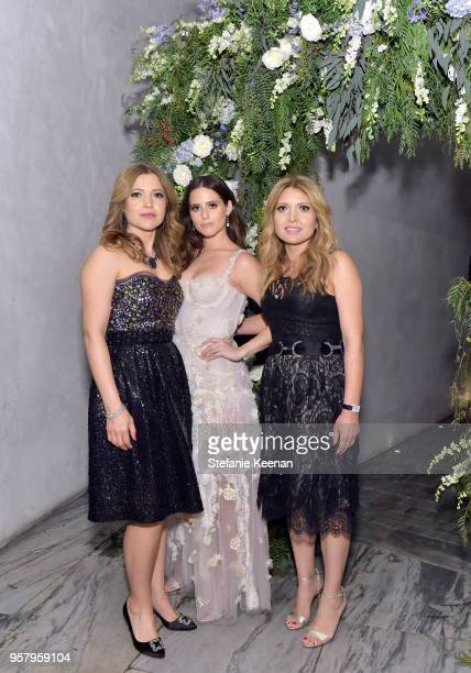 Sara Rafoua Alexa Dell and Tannaz Refoua attend Alexa Dell and Harrison Refoua's engagement celebration at Ysabel on May 12 2018 in West Hollywood...