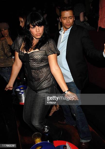 Sara Ramirez and Jai Rodriguez during Verizon Wireless / Rolling Stone PreGRAMMY Party Inside at Avalon in Los Angeles California United States