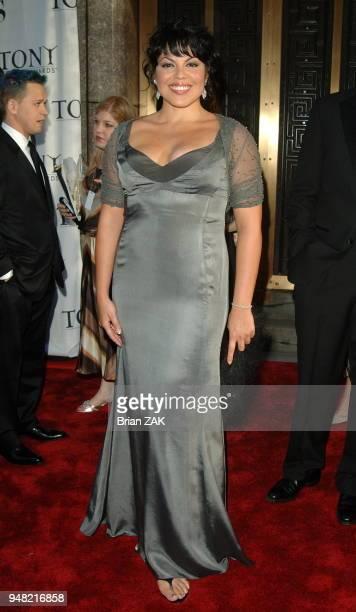 Sara Ramirez arrives to the 60th Annual Tony Awards held at Radio City Music Hall New York City BRIAN ZAK