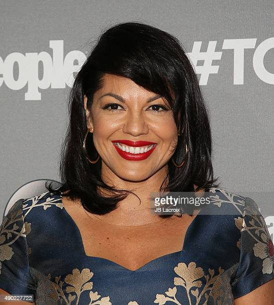 Sara Ramirez attends the Celebration of ABC's TGIT Lineup presented by Toyota and cohosted by ABC and Time Inc's Entertainment Weekly Essence and...