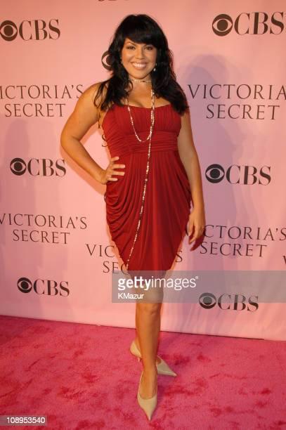 Sara Ramirez during 11th Victoria's Secret Fashion Show Pink Carpet at Kodak Theater in Hollywood California United States