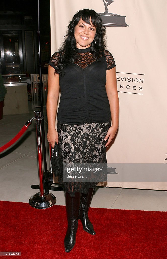Sara Ramirez during 58th Annual Primetime Emmy Award Nominees for Outstanding Writing Reception at French 75 Bistro in Century City, California, United States.