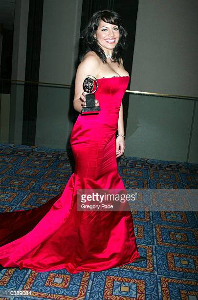 Sara Ramirez during 59th Annual Tony Awards After Party at Marriott Marquis in New York City New York United States