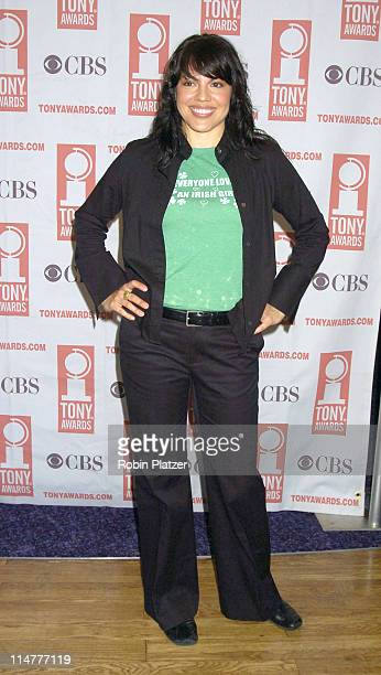 Sara Ramirez during 59th Annual Tony Awards Nomination Press Conference at Marriott Marquis in New York City New York United States