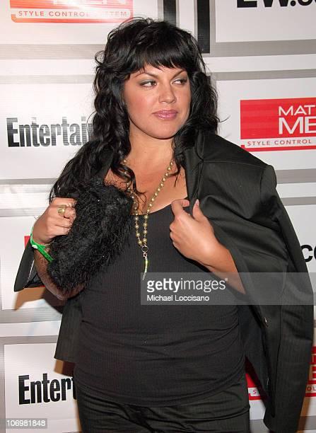 Sara Ramirez during Entertainment Weekly/Matrix Men 2006 Upfront Party at The Manor in New York City New York United States