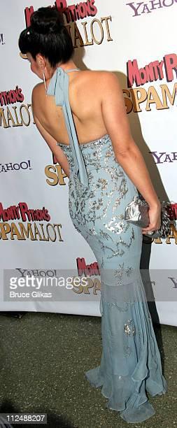 Sara Ramirez during Monty Python's 'Spamalot' Opening Night on Broadway After Party at Roseland Ballroom in New York City New York United States