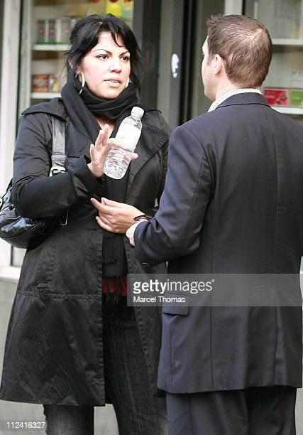 Sara Ramirez during Sara Ramirez Sighting in New York City May 17 2007 at Streets of Manhattan in New York City New York United States