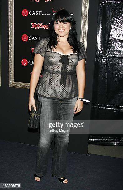 Sara Ramirez during Verizon Wireless / Rolling Stone PreGRAMMY Party Arrivals at Avalon in Hollywood California United States