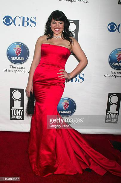 Sara Ramirez nominee Best Performance by a Featured Actress in a Musical for Monty Python's Spamalot