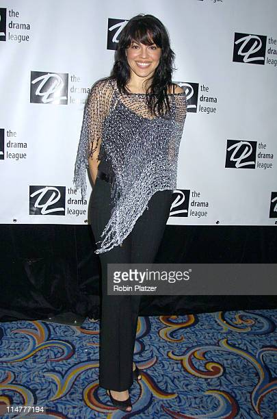 Sara Ramirez of Monty Python's 'Spamalot' during The 71st Annual Drama League Awards Arrivals at Marriott Marquis Hotel in New York City New York...