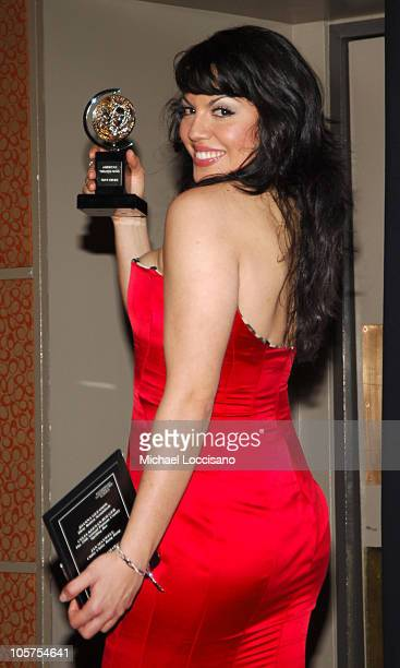 Sara Ramirez winner Best Performance by a Featured Actress in a Musical for 'Monty Python's Spamalot'