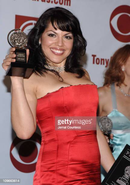 Sara Ramirez winner Best Performance by a Featured Actress in a Musical for Monty Python's Spamalot