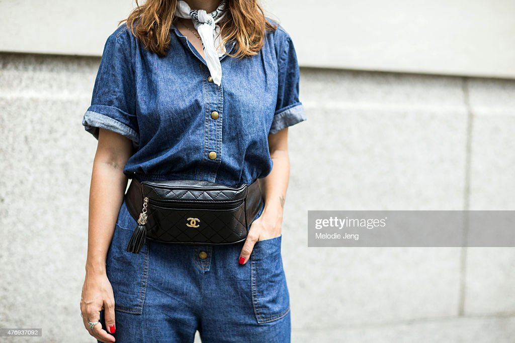 Day 1 - Street Style - London Collections Men SS16 : News Photo