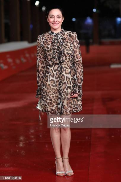 Sara Ricci attends the red carpet of the movie Run With the Hunted during the 14th Rome Film Festival on October 24 2019 in Rome Italy