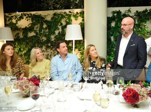 Sara Riff Ali Wise John de Neufville Alice Levison and THE OUTNET's Andres Sosa attend THE OUTNET x Amber Valletta at Waldorf Astoria Beverly Hills...