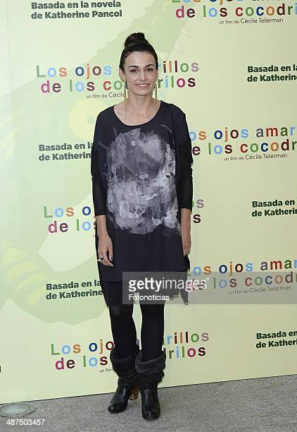 Sara Rivero attends the 'Los Ojos Amarillos de los Cocodrilos' premiere the Academia del Cine on April 30 2014 in Madrid Spain