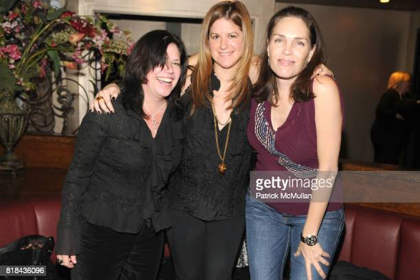 Sara Romero Cassie Rosenthal and Janet Phelps attend NEW YORK JUNIOR LEAGUE Most Outstanding Volunteer Party for AMY PHELAN at Pink Elephant on...