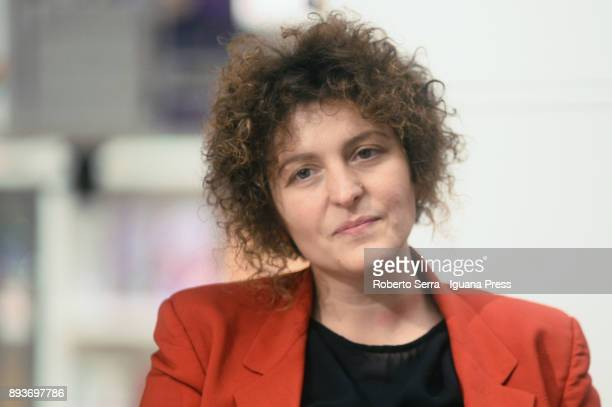 Sara Roversi founder of Future Food Institute attends the presentation of Maurizio Martina minister for agricoltural and latest book 'Dalla Terra...