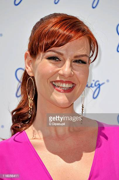 Sara Rue attends Jenny's Party in the Plaza at Josie Robertson Plaza at Lincoln Center on June 14, 2011 in New York City.