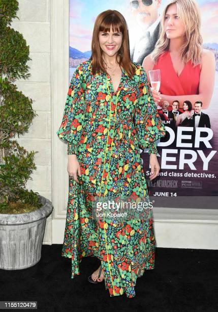 "Sara Rue attends LA Premiere Of Netflix's ""Murder Mystery"" at Regency Village Theatre on June 10, 2019 in Westwood, California."