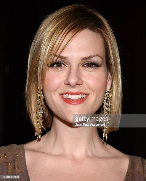 Sara Rue during 20th Anniversary Genesis Awards Arrivals at Beverly Hilton in Beverly Hills California United States