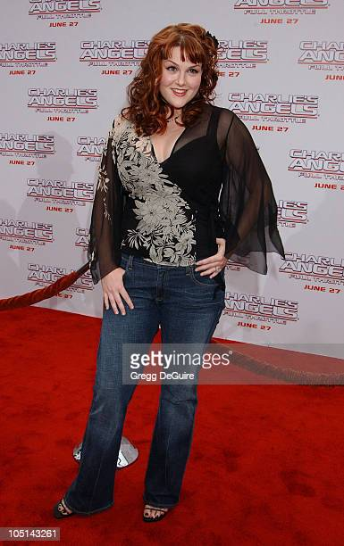 """Sara Rue during """"Charlie's Angels 2 - Full Throttle"""" Premiere at Mann's Chinese Theater in Hollywood, California, United States."""