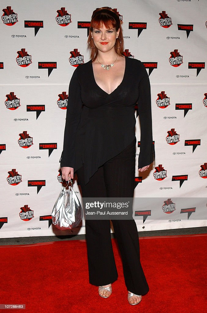 Sara Rue during Comedy Central's First Annual Commie Awards - Arrivals at Sony Studios in Culver City, California, United States.