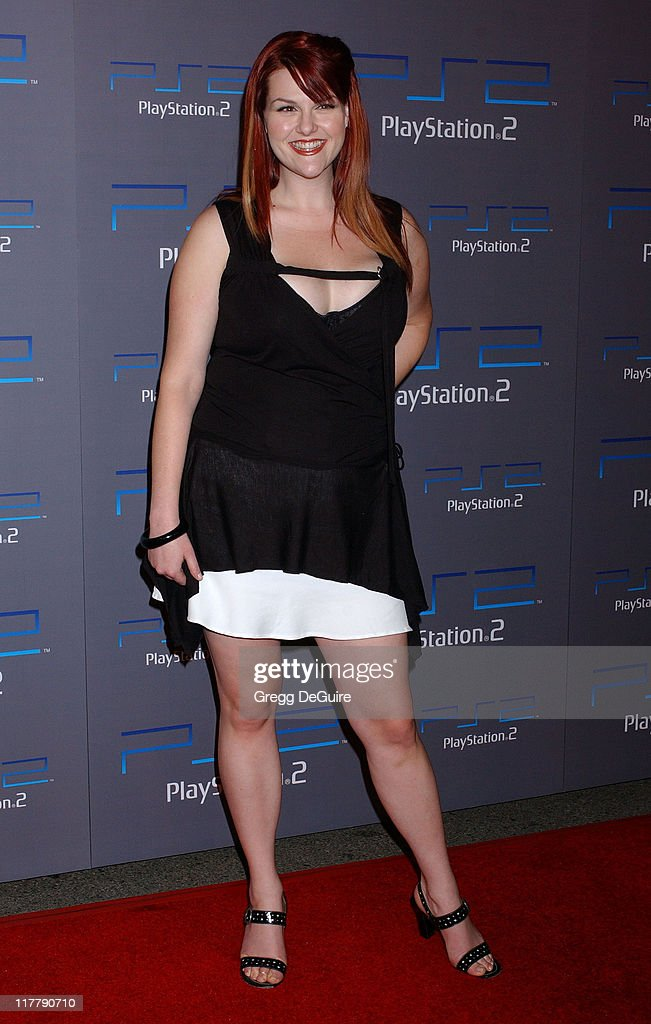 Sara Rue during Playstation 2 Offers A Passage Into The