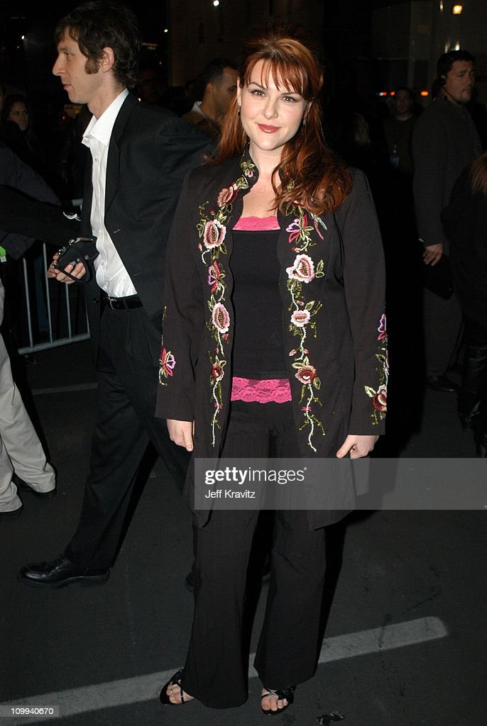 Sara Rue during VH1 Big in 2002 Awards - Arrivals at Grand Olympic Auditorium in Los Angeles, CA, United States.