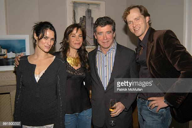 Sara Ruffin Costello Allison Sarofim Jay McInerney and Charles Askegard attend Allison Sarofim's Party for the Opening of NARNIA at Allison Sarofim's...