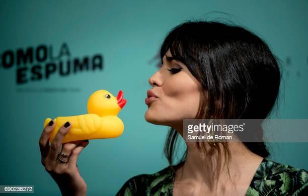 Sara Salamo attends 'Como La Espuma' Madrid Photocall on May 30 2017 in Madrid Spain
