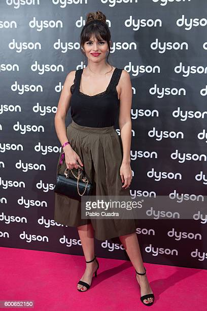 Sara Salamo attends the Dyson Supersonic Hairdryer presentation on September 8 2016 in Madrid Spain