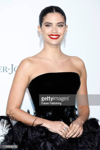 Sara Sampaio at the amfAR Cannes Gala 2019 at Hotel du CapEdenRoc on May 23 2019 in Cap d'Antibes France