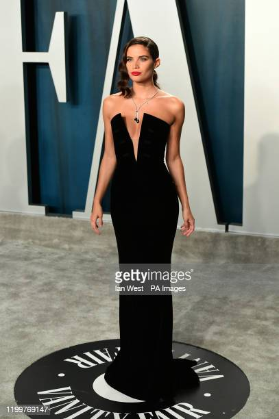 Sara Sampaio attending the Vanity Fair Oscar Party held at the Wallis Annenberg Center for the Performing Arts in Beverly Hills, Los Angeles,...