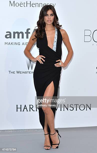 Sara Sampaio attends amfAR's 22nd Cinema Against AIDS Gala Presented By Bold Films And Harry Winston at Hotel du CapEdenRoc on May 21 2015 in Cap...