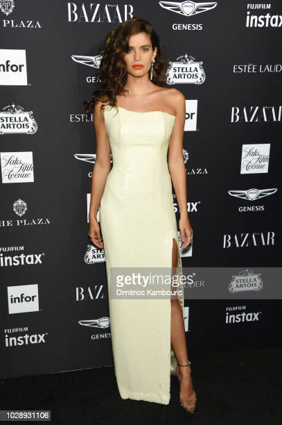 Sara Sampaio attends as Harper's BAZAAR Celebrates ICONS By Carine Roitfeld at the Plaza Hotel on September 7 2018 in New York City