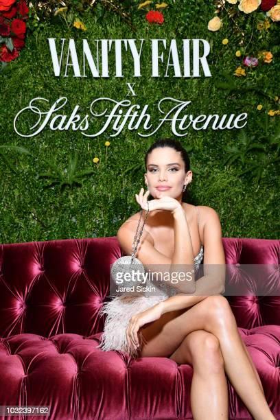 Sara Sampaio attends as Vanity Fair and Saks Fifth Avenue celebrate Vanity Fair's BestDressed 2018 at Manhatta on September 12 2018 in New York City
