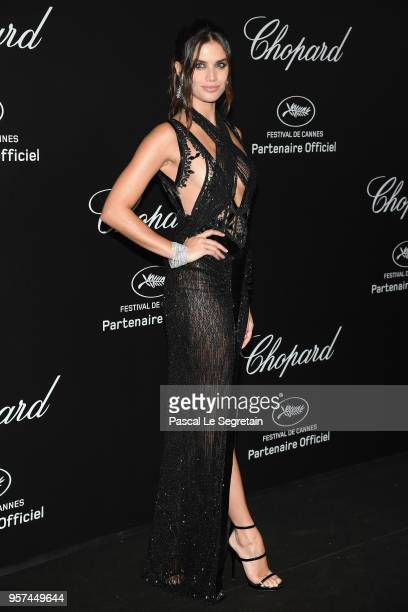 Sara Sampaio attends Chopard Secret Night during the 71st annual Cannes Film Festival at Chateau de la Croix des Gardes on May 11 2018 in Cannes...