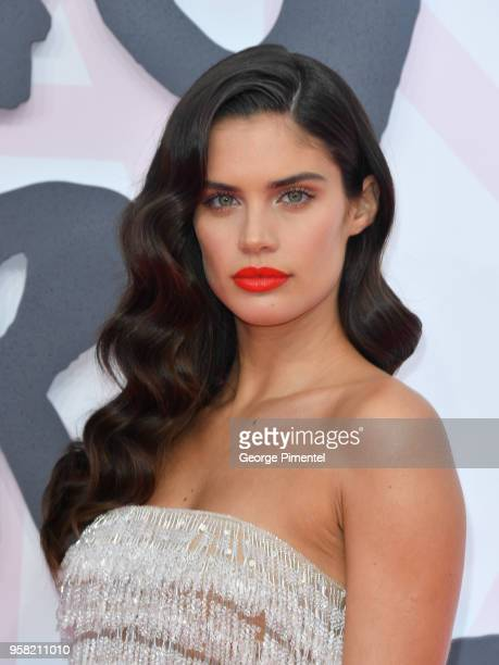 Sara Sampaio attends Fashion For Relief Cannes 2018 during the 71st annual Cannes Film Festival at Aeroport Cannes Mandelieu on May 13 2018 in Cannes...