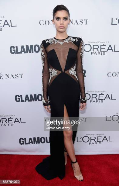 Sara Sampaio attends Glamour's 2017 Women of The Year Awards at Kings Theatre on November 13 2017 in Brooklyn New York
