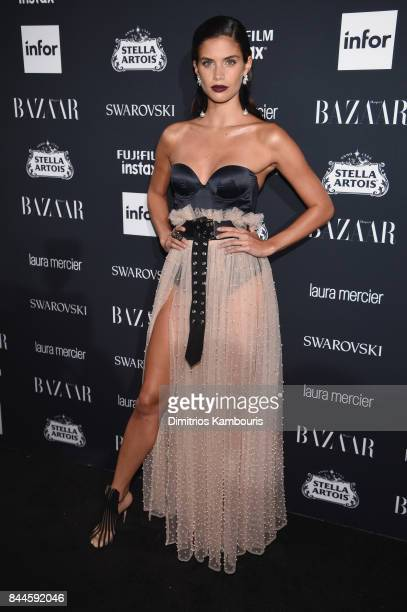 Sara Sampaio attends Harper's BAZAAR Celebration of 'ICONS By Carine Roitfeld' at The Plaza Hotel presented by Infor Laura Mercier Stella Artois...