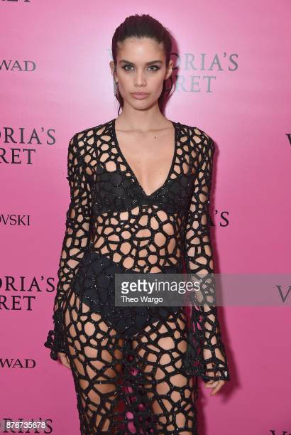 Sara Sampaio attends the 2017 Victoria's Secret Fashion Show In Shanghai After Party at MercedesBenz Arena on November 20 2017 in Shanghai China