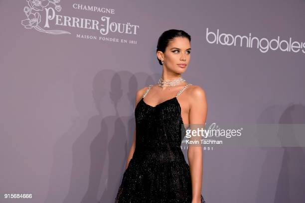 Sara Sampaio attends the 2018 amfAR Gala New York at Cipriani Wall Street on February 7 2018 in New York City